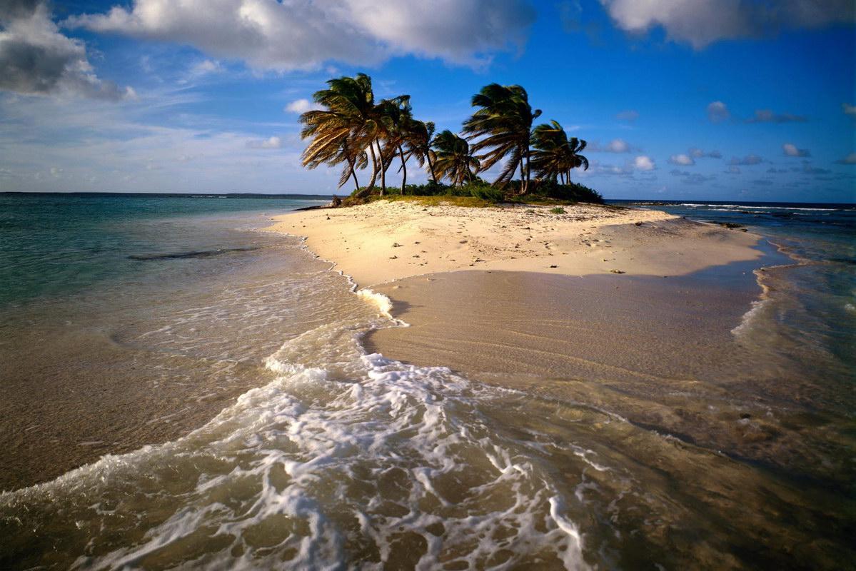 caribbean island postcard wallpaper - photo #18