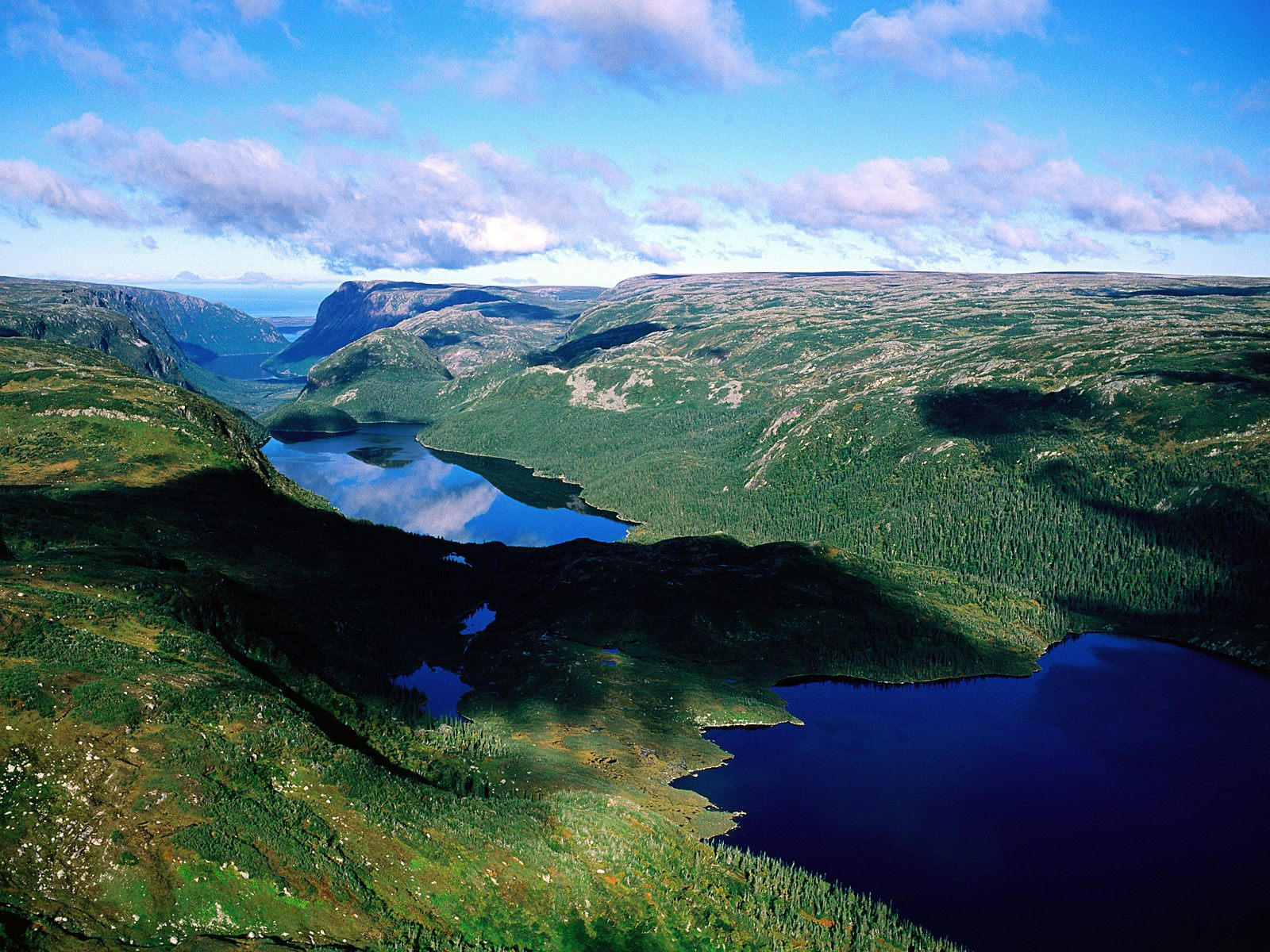 Gros Morne National Park Newfoundland Canada