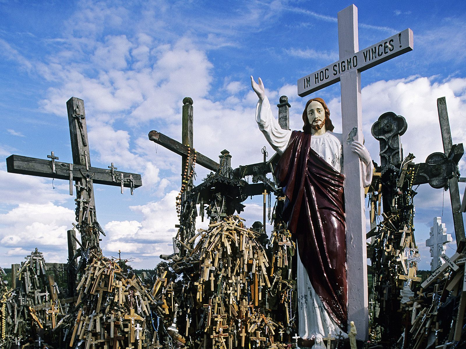 Crosses Hill Hill of Crosses Siauliai