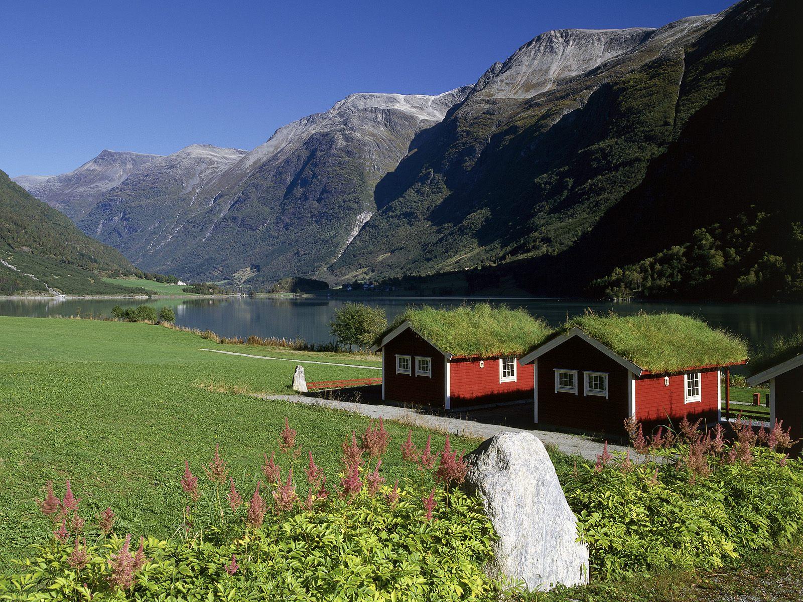 Lakeside Homes Oldenvatnet Norway
