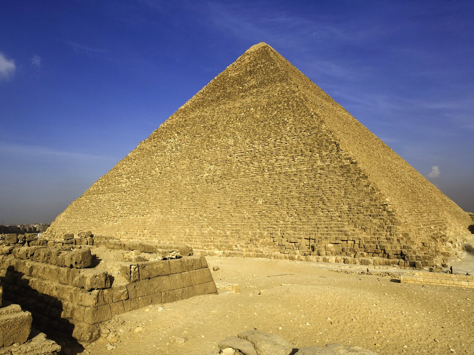The Great Pyramid Giza Egypt