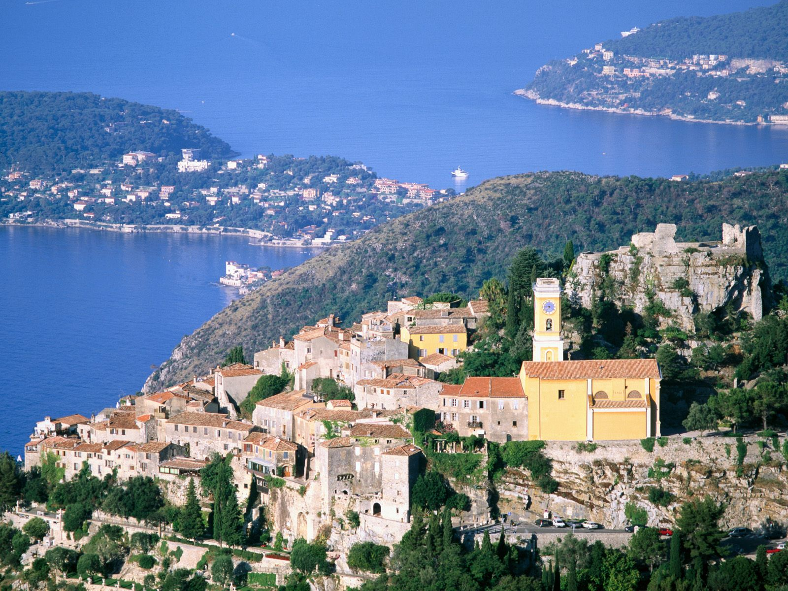 Eze and Cap-Ferrat France