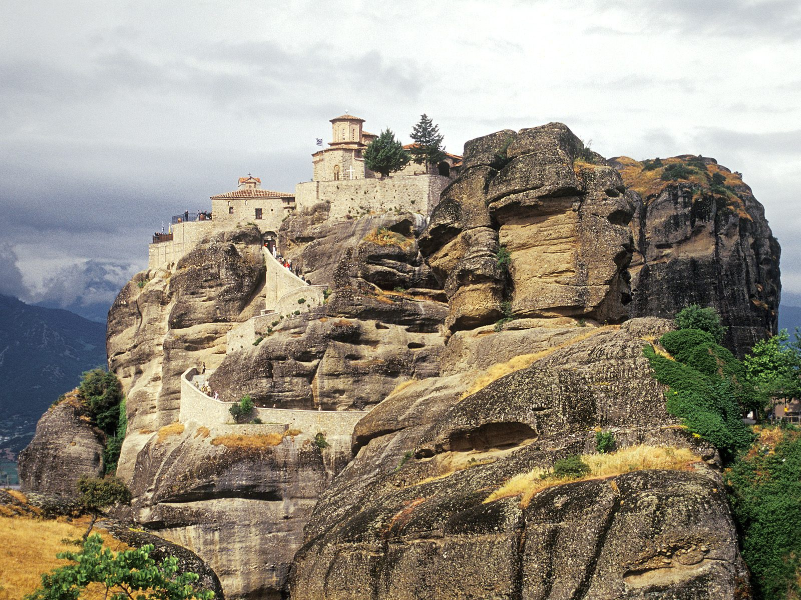 Varlaam Monastery Meteora Greece picture, Varlaam ...