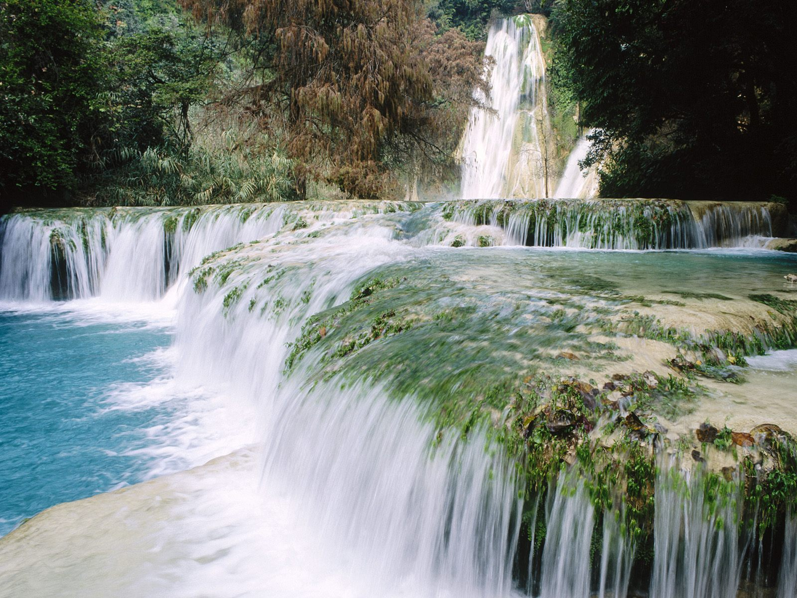 Minas Viejas Waterfalls Huasteca Potosina Mexico