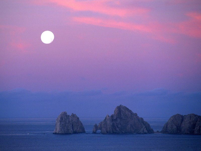 mexico cabo moon baja california
