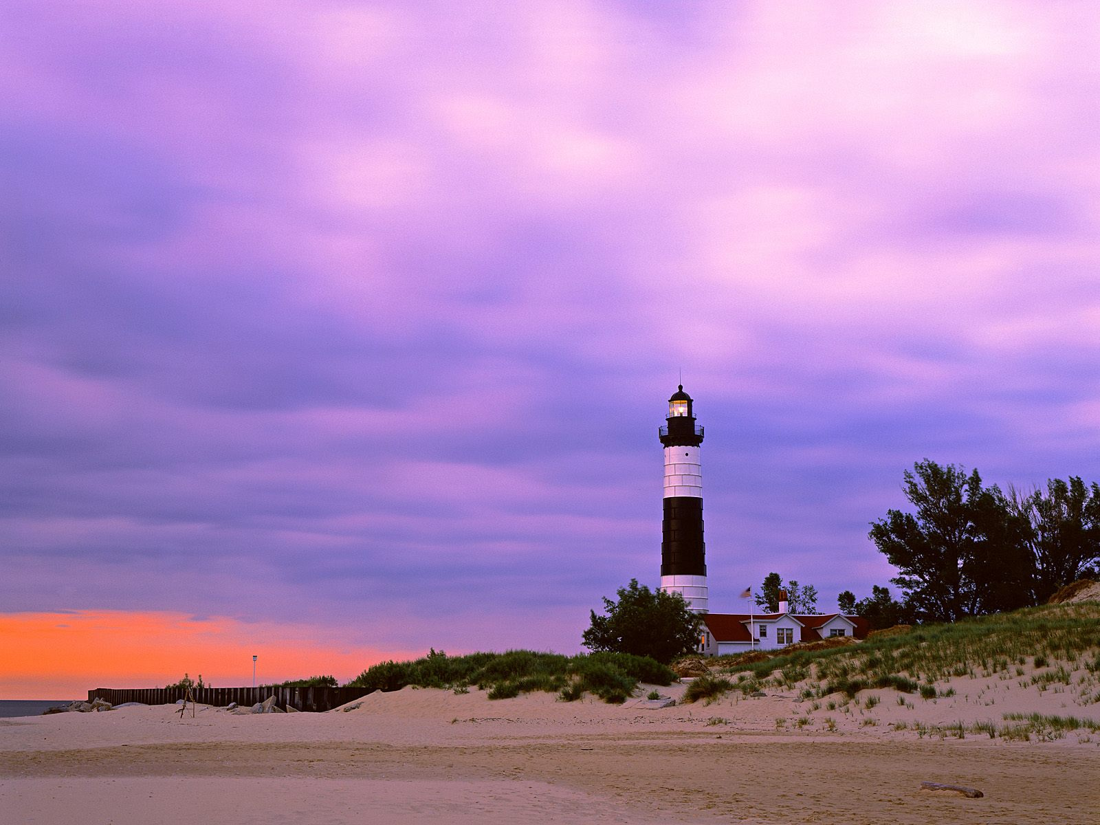 Big Sable Point Lighthouse Ludington State Park Michigan