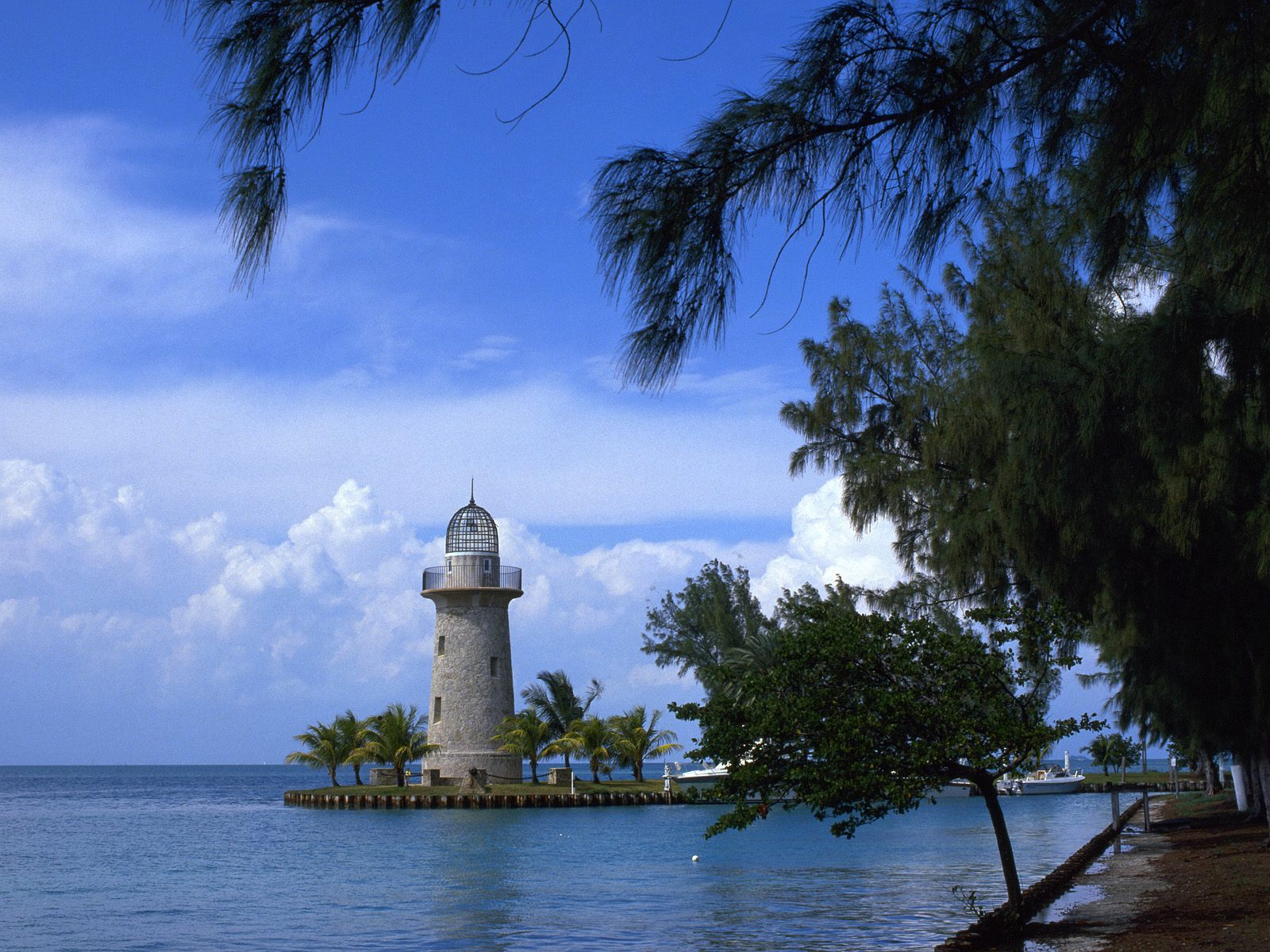 Boca Chita Lighthouse Biscayne National Park Florida