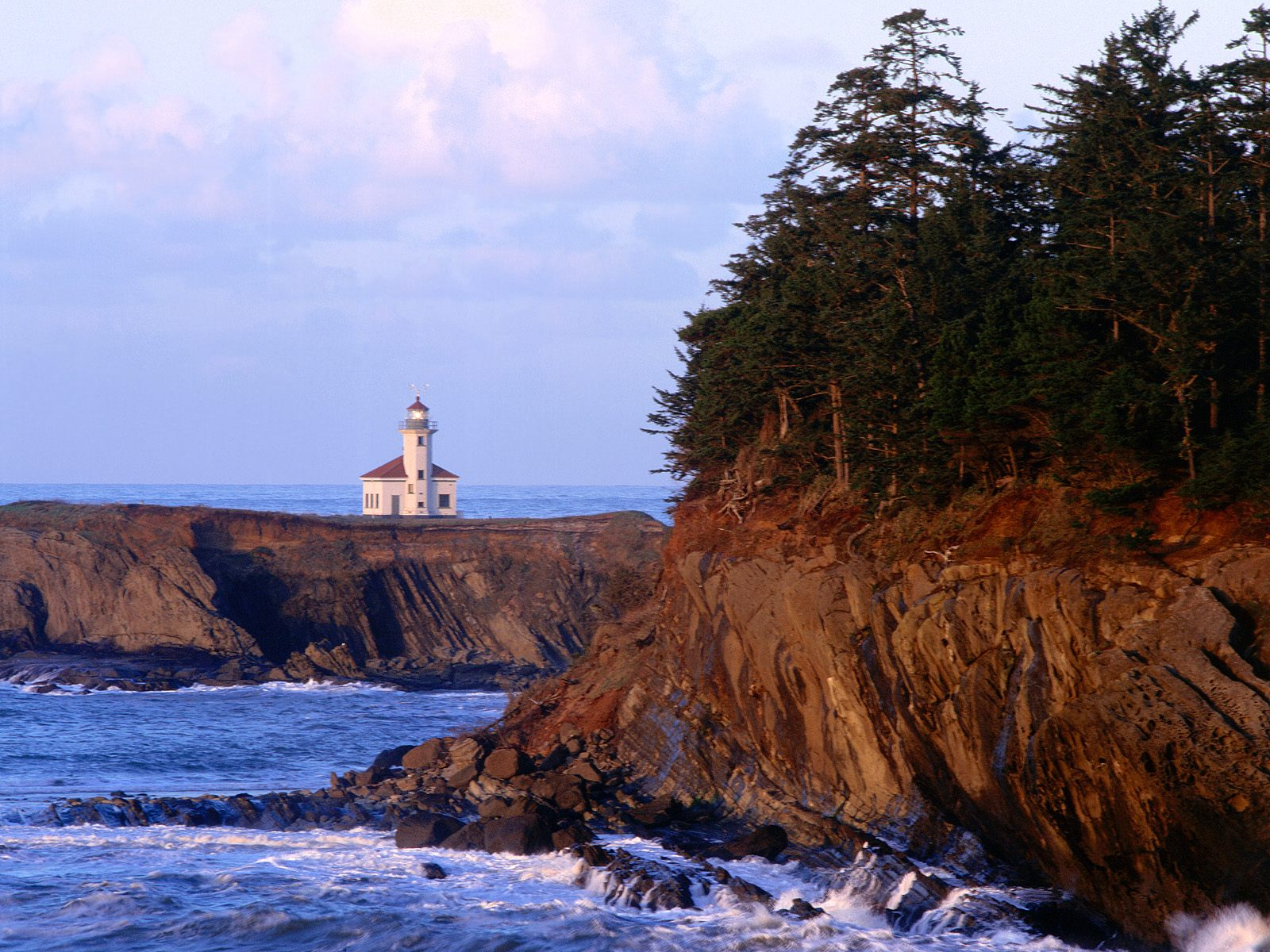 Cape Arago Lighthouse Coos County Oregon