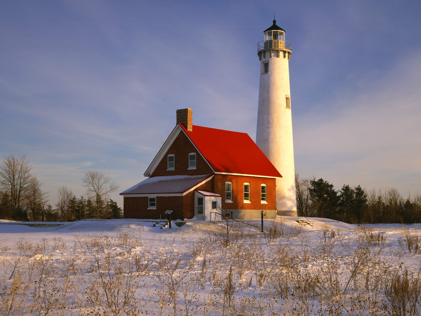 Tawas Point Lighthouse Iosco County Michigan