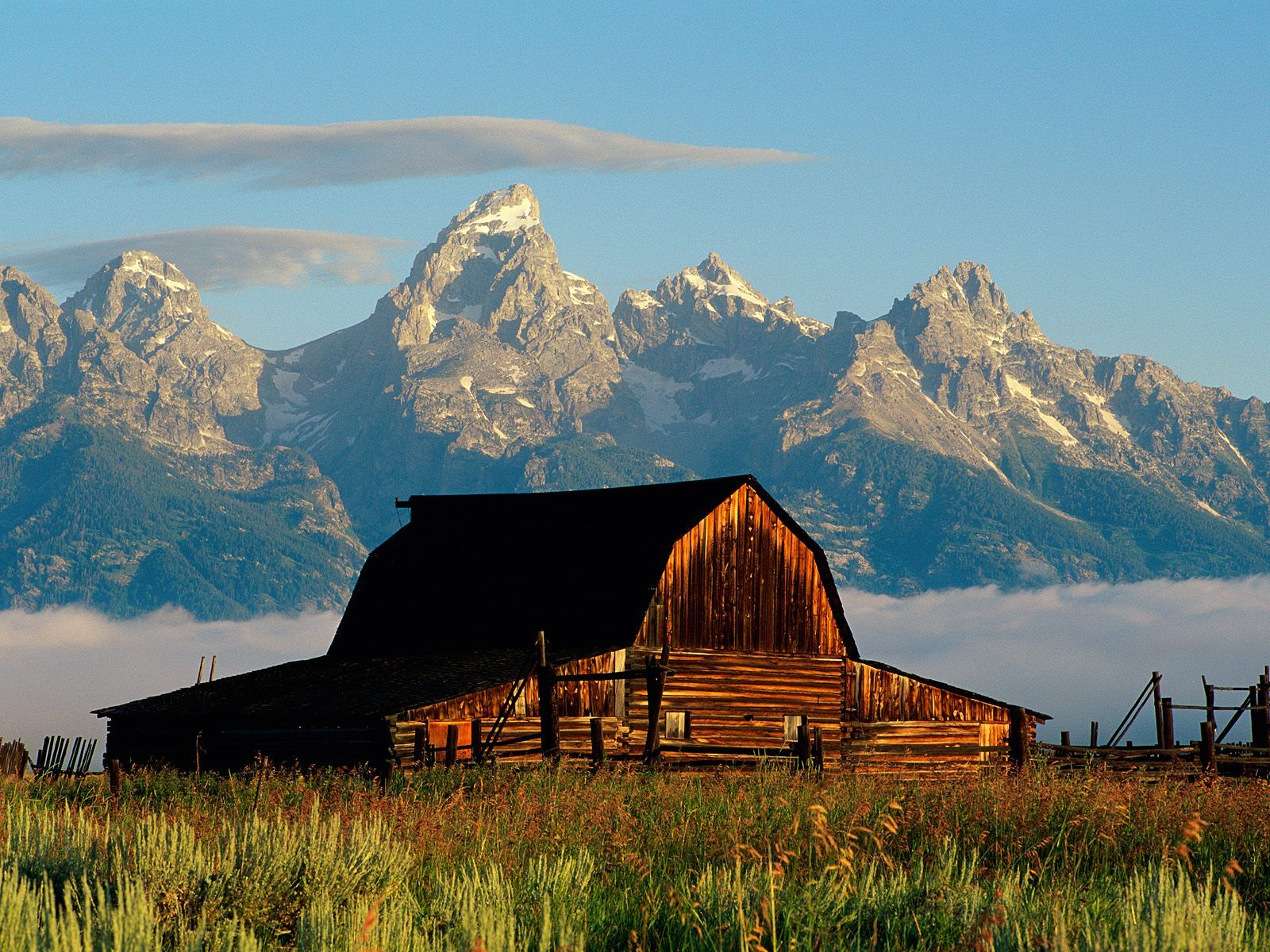 Jackson Hole in Summer Wyoming