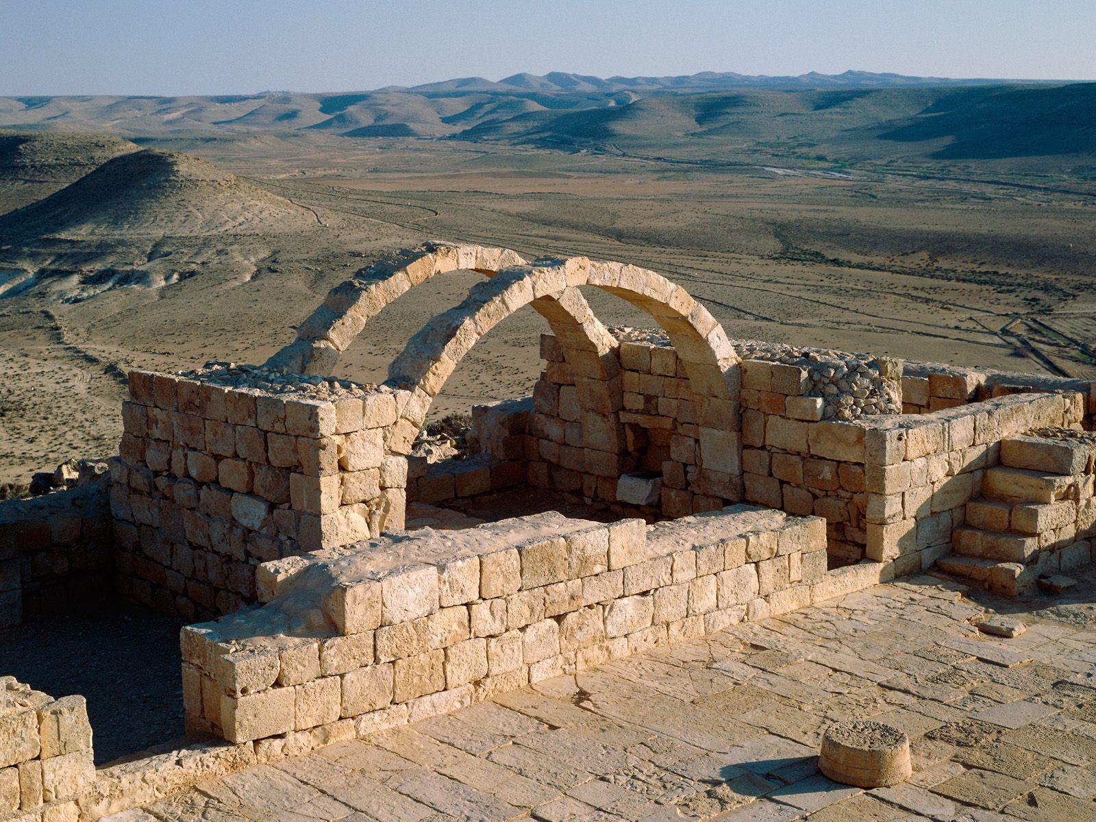 Avdat Negev Desert Israel 1600x1200