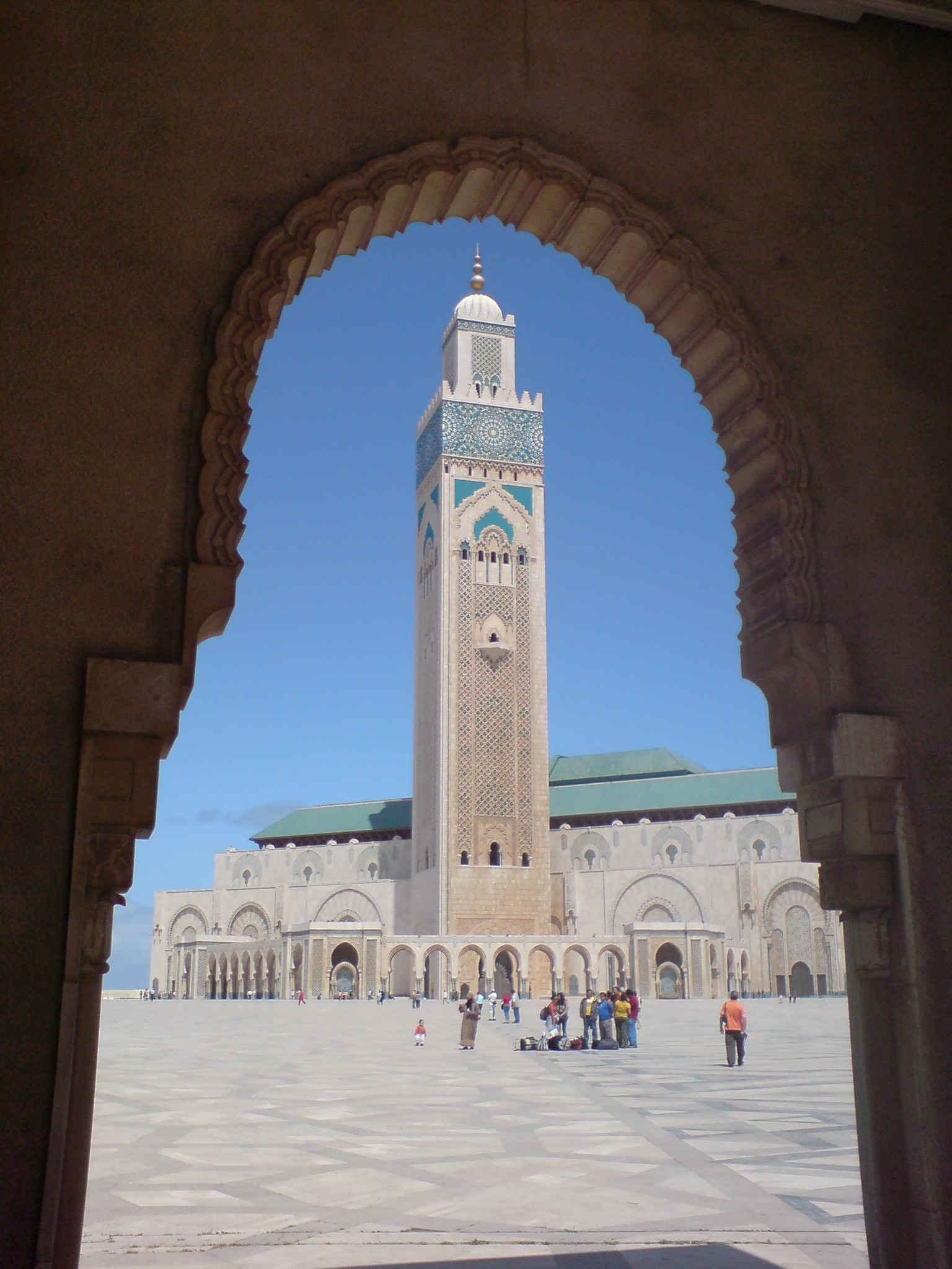 Beautiful hassan ii mosque in casablanca morocco picture - Marocco casablanca ...
