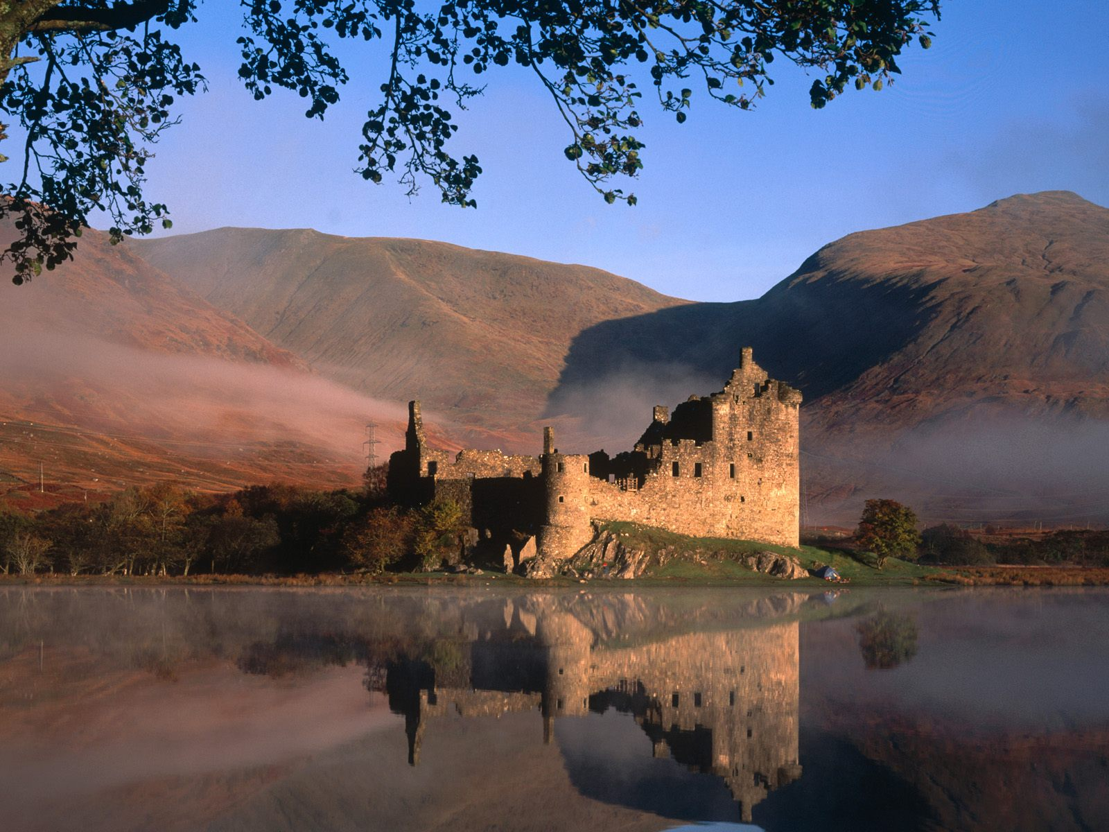 Kilchurn Castle  Loch Awe Scotland