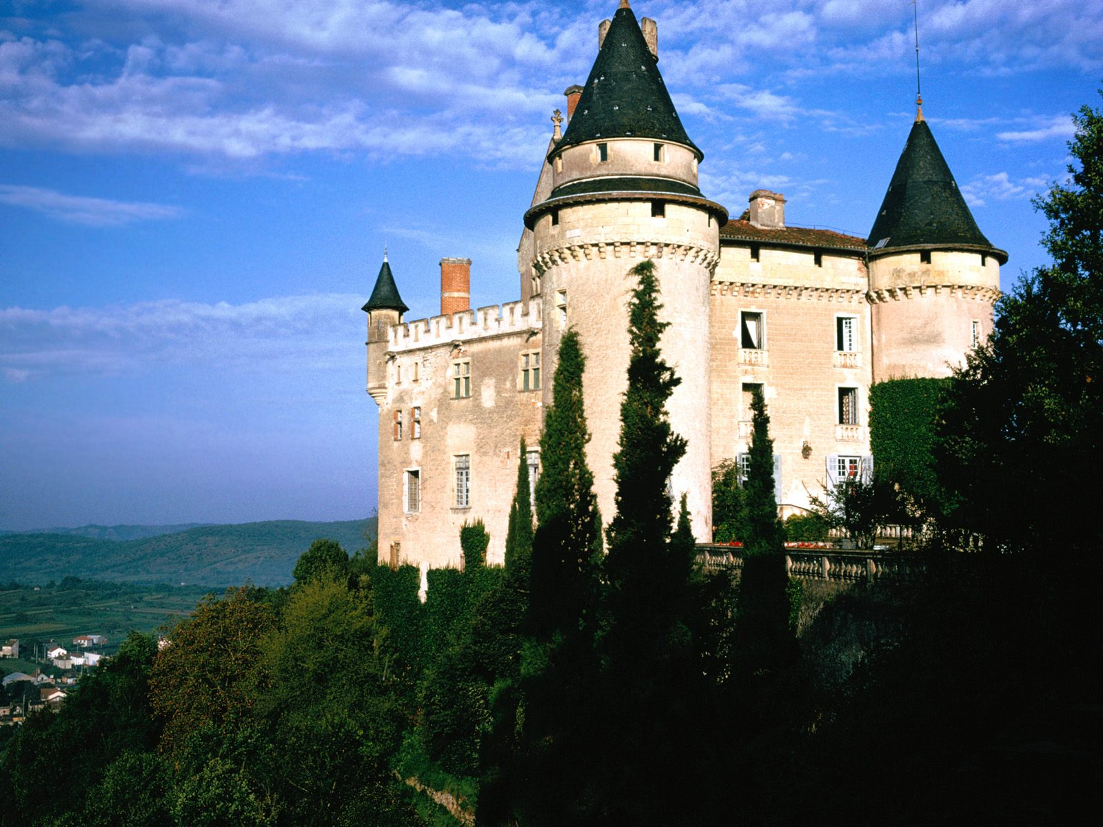 castle wallpaper nice france - photo #16