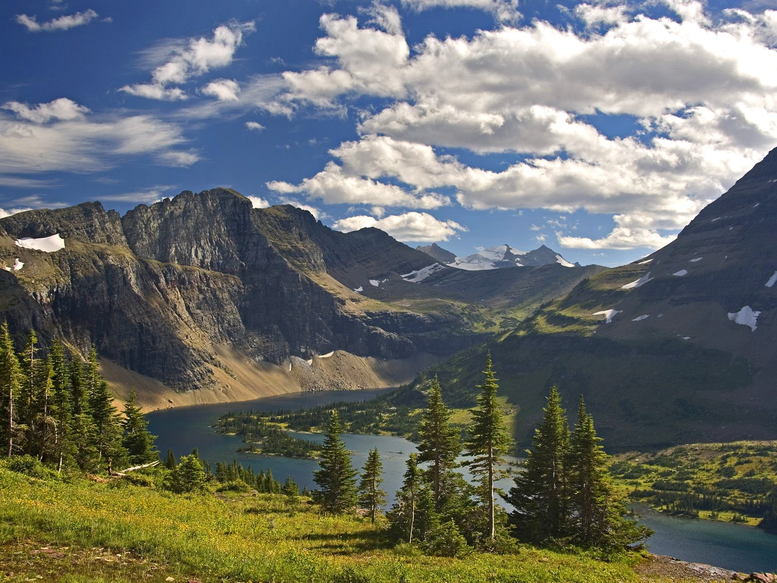 Hidden Lake Vista Glacier National Park Montana picture, Hidden ...