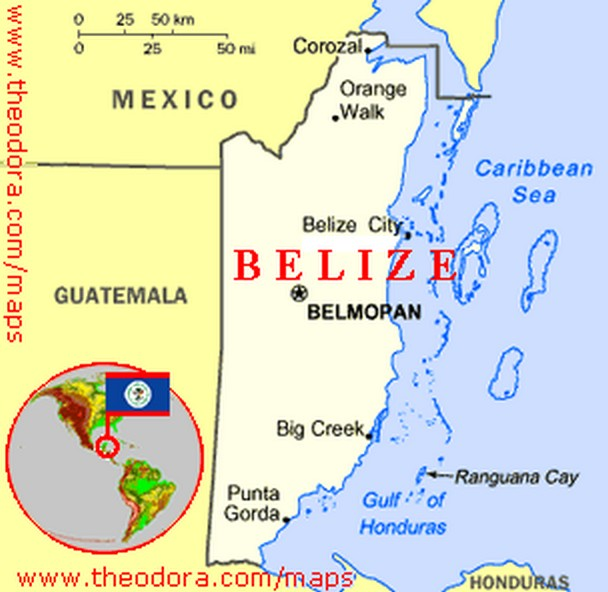 Example Of A Resource Map: Belize Map Picture, Belize Map Photo, Belize Map Pic