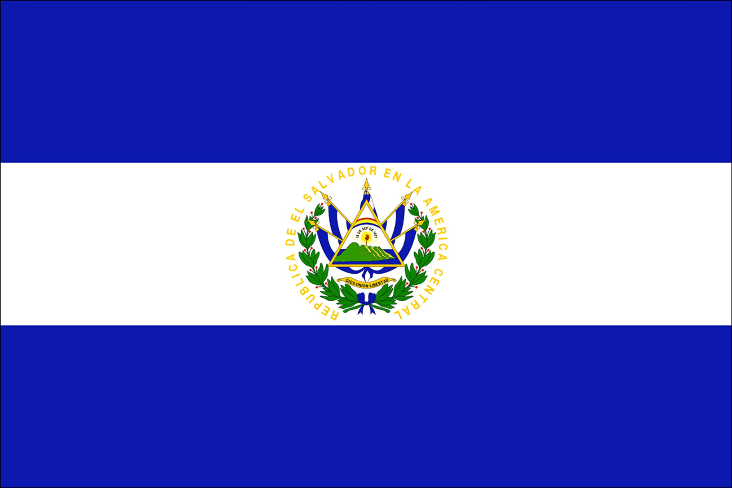 El-salvador Flag Picture, El-salvador Flag Photo, El