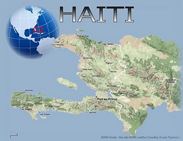 a geography of haiti