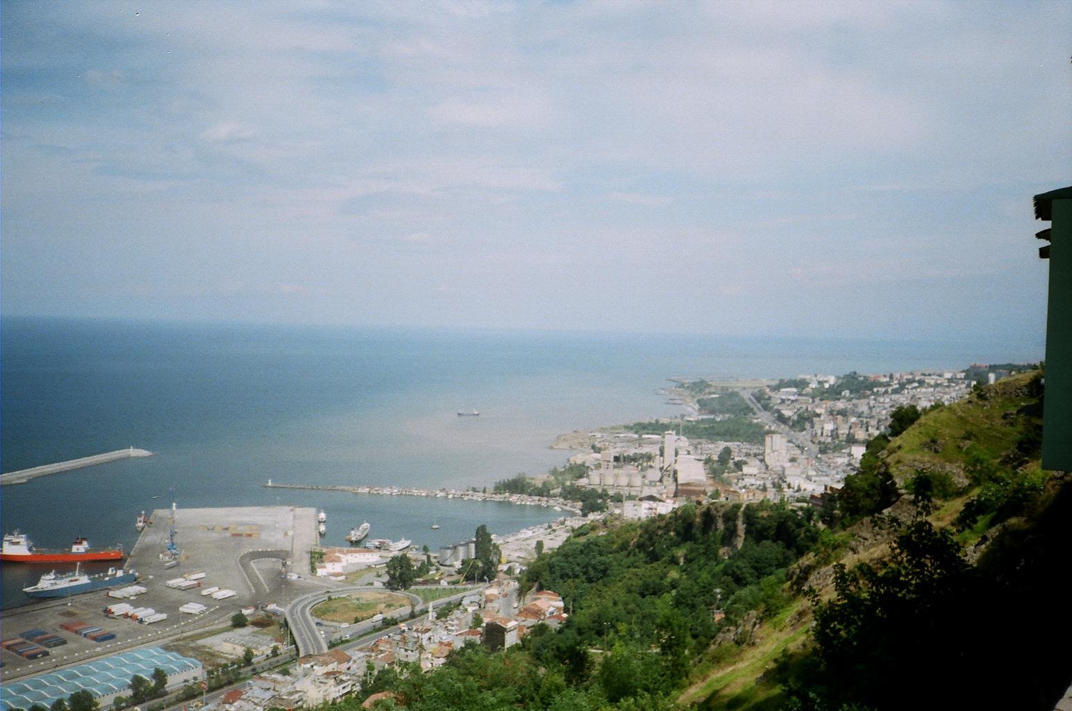 Trabzon Liman Postcard