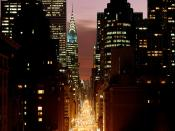 New York at Nightfall
