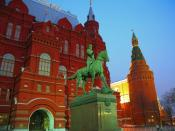 Marshall Zhukov Equestrian Statue and State Historical Museum