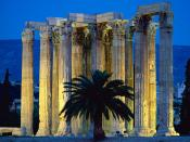 Temple of Olympian Zeus Athens Greece