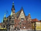 Town Hall Wroclaw Poland