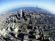 Birds Eye View of Toronto Canada