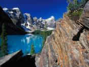 Moraine Lake and Valley of the Ten Peaks Banff National Park Canada