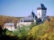 Karlstejn Castle Central Bohemia Czech Republic