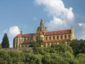 Kladruby Monastery West Bohemia Czech Republic
