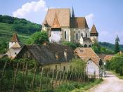 Saxon Fortified Church of Biertan Near Sighisoara Transylvania