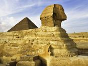 The Sphinx Giza Near Cairo Egypt