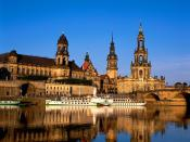 Elbe River Dresden Germany