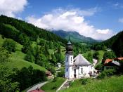 Maria Gern Church Bavaria Germany