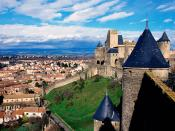 Chateau Comtal Carcassonne France