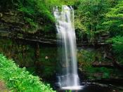 Glencar Waterfall County Leitrim Connaught Ireland