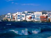 Mykonos Cyclades Islands Greece