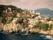 La Quebrada Cliff Acapulco Mexico