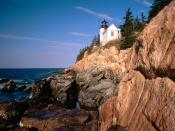 Bass Harbor Head Lighthouse Acadia National Park Maine