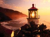 Heceta Sunset Devils Elbow State Park Oregon