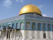 Dome of the Rock in Jerusalem Israel