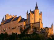 Alcazar Castle Segovia Spain 1