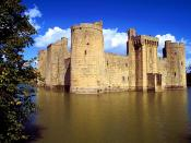 Bodiam Castle and Moat East Sussex England 1024