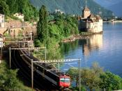 Chillon Castle Lake Geneva Switzerland 3
