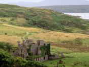 Clifden Castle County Galway Ireland