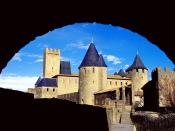 Comtal Castle Carcassonne France 2
