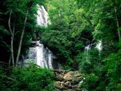 Anna Ruby Falls Chattahoochee National Forest