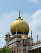 Sultan-mosque-golden-dome