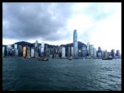 Hong Kong Skyline   Harbour by RobertNicholls